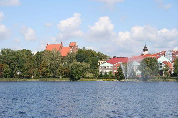 Ilawa et son lac